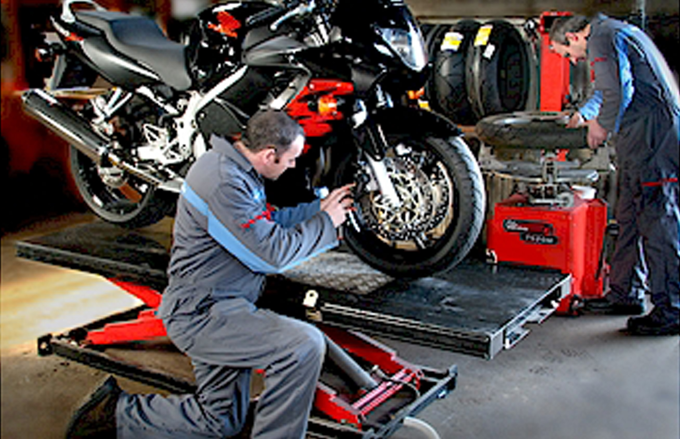 Servicing repairs selby motorcycles for Motorized bicycle repair shop